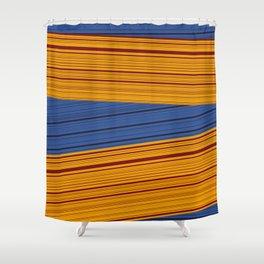 Sunrise Spot Weave Shower Curtain