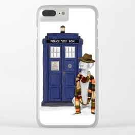 DOCTOR WEIM? Clear iPhone Case