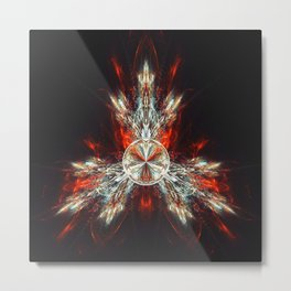 Fractality - Tribute Metal Print