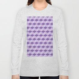 Blue shadow blocks Long Sleeve T-shirt