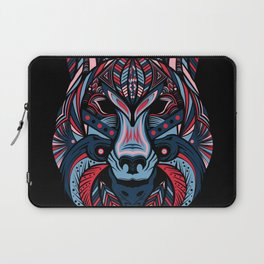 Wolf head art Laptop Sleeve