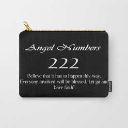 ANGEL Numbers 222 Carry-All Pouch
