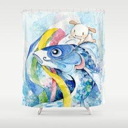 Nemu's Tango no Sekku 2015 Shower Curtain
