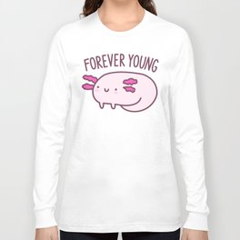 Adorable Axolotls Long Sleeve T-shirt