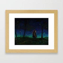 Woodland Adventure Framed Art Print