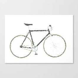 My Fixie Bike Canvas Print
