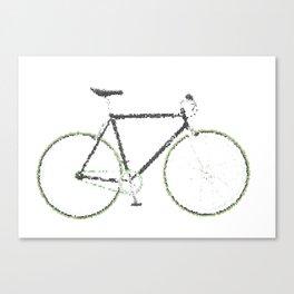 My Fixie Bike Canvas Print