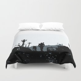 The Lone Wanderer Duvet Cover