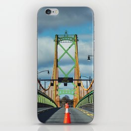 Just Giv'er Bridge iPhone Skin