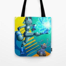 Krispe Kitsune Tote Bag