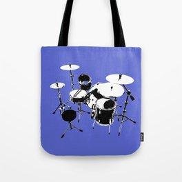 Drumkit Silhouette (backview) Tote Bag