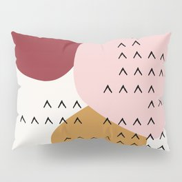 Big Shapes / Mountains Pillow Sham