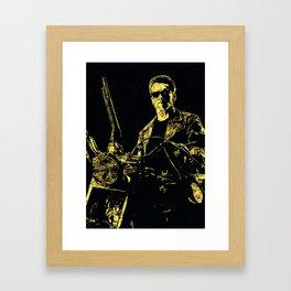 Terminator - The Legend Framed Art Print