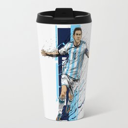 Football Legends: Lionel Messi - Argentina Travel Mug