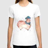 alpaca T-shirts featuring Warm Alpaca by pattern paint