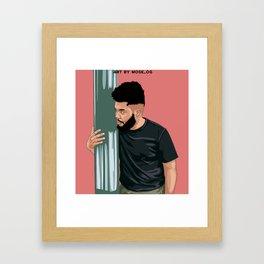 Khalid Suncity Framed Art Print
