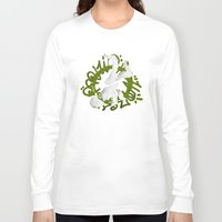 hiphop Long Sleeve T-shirts featuring Hiphop by Lydia Wingbermuhle