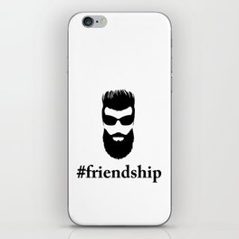 #friendship iPhone Skin