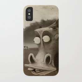 a morning without sun iPhone Case