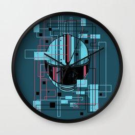 Reticent. Wall Clock