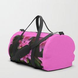 Pink Azelaea Spring Flowers Pretty Flowers Blossoms Nature Flora Duffle Bag