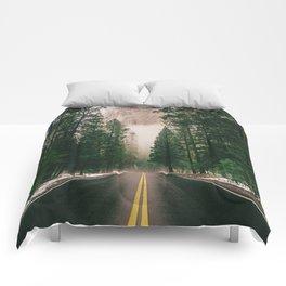 On the Road III / Yellowstone Comforters