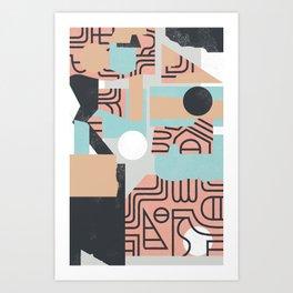 The Mole Art Print