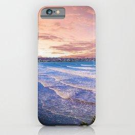 First Beach - Cliff Walk Newport, Rhode Island Sunset Landscape iPhone Case