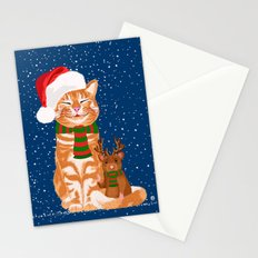Christmas Buddies Stationery Cards