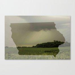 Iowa in Spring Canvas Print