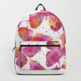 Artsy Butterfly colorful watercolor art Backpack