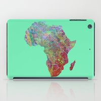 africa iPad Cases featuring Africa by mthbt