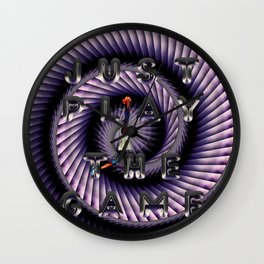 just play the game Wall Clock