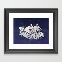Ghost Race Framed Art Print