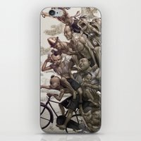 artgerm iPhone & iPod Skins featuring Ten Brothers by Artgerm™