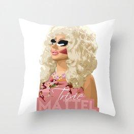 Trixie Mattel, RuPaul's Drag Race Queen Throw Pillow