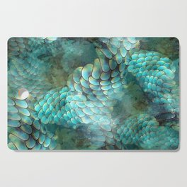 Mermaid Scales Cutting Board