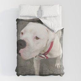TSUKi (shelter pup) Duvet Cover