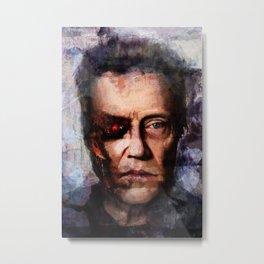 Christopher Walken Terminator Metal Print