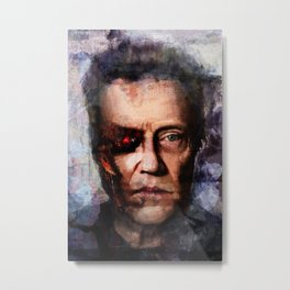 Christopher Walken Terminator Metal Print