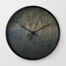 deep hayes reflections Wall Clock