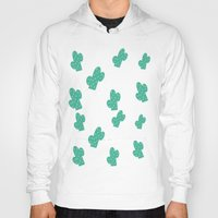 cacti Hoodies featuring Cacti by Hello Lidy