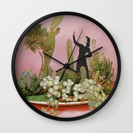 The Wonders of Cactus Island Wall Clock