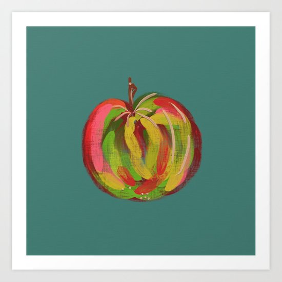 Irish Apple Art Print