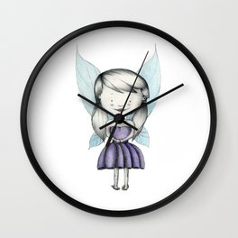 Punk is the Pixie Wall Clock