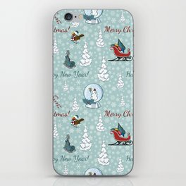 Merry christmas pattern SB13 iPhone Skin