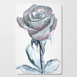 Rose Drawing Cutting Board