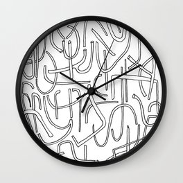 In pieces Wall Clock
