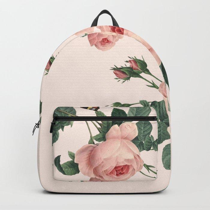 Butterflies in the Rose Garden Backpack