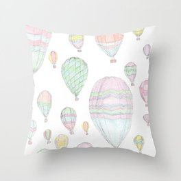 Just some hot air! Throw Pillow